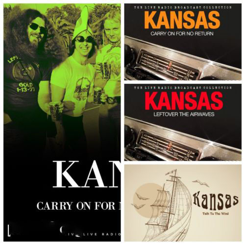 Kansas – Live Box-Set (2020)