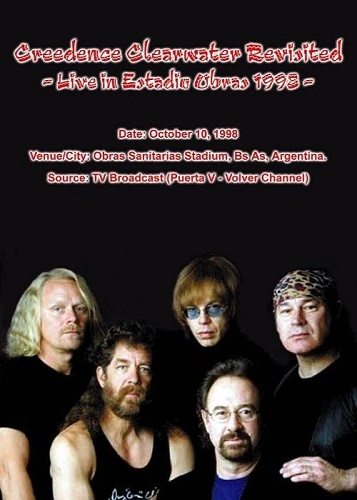 Creedence Clearwater Revisited - Live In Estadio Obras (1998)
