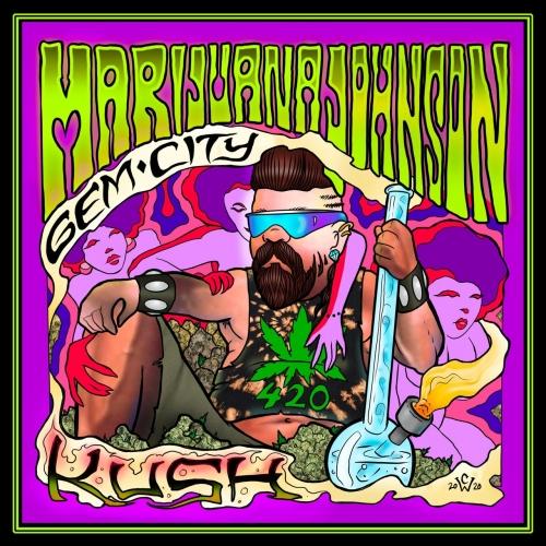 Marijuana Johnson - Gem City Kush (2021)