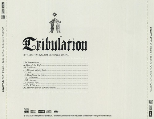 Tribulation - Where the Gloom Becomes Sound (Japanese Edition) (2021)