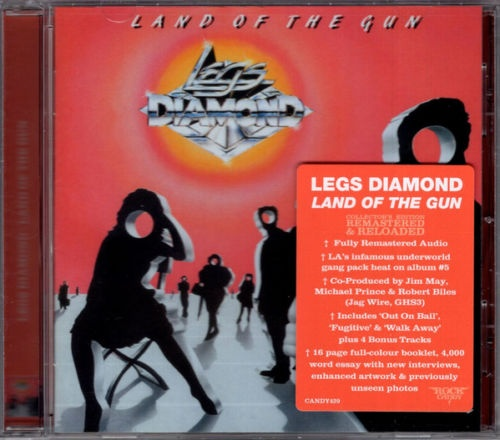 Legs Diamond – Land Of The Gun (Rock Candy Remaster 2021)