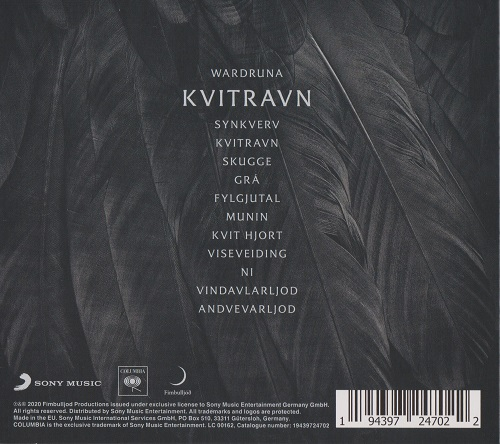 Wardruna - Kvitravn (2021) + Hi-Res