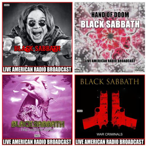 Black Sabbath - Children Of The Grave Box-Set (2021) (4CD)