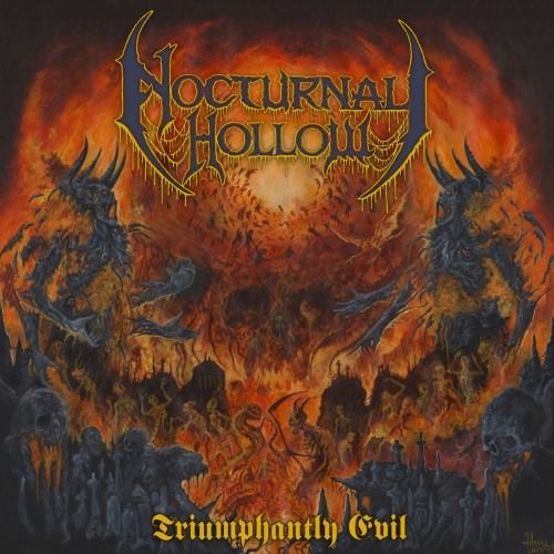 Nocturnal Hollow - Triumphantly Evil (2021)
