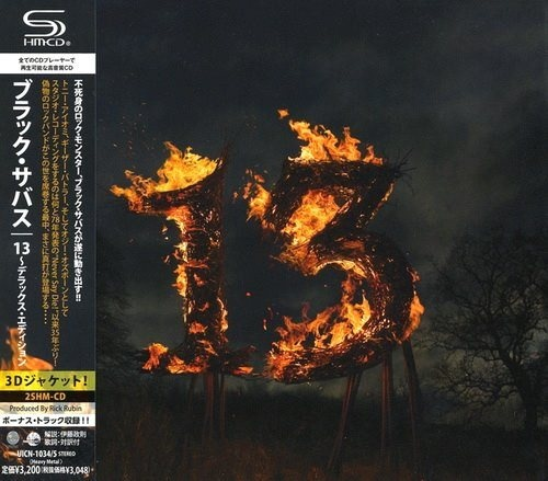 Black Sabbath - Тhirtееn (2СD) [Jараnеsе Еditiоn] (2013)