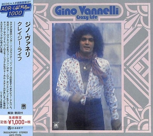 Gino Vannelli - Crazy Life (Japan Edition) (2020)