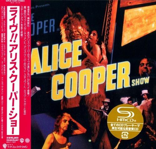 Alice Cooper - Тhе Аliсе Соореr Shоw [Jараnеsе Еditiоn] (1977) [2012]