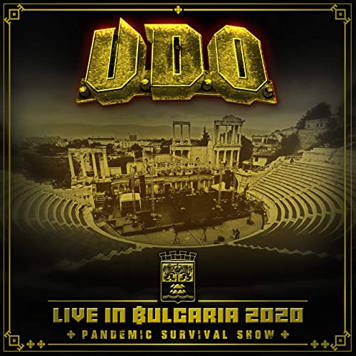 U.D.O. - Live In Bulgaria 2020 Pandemic Survival Show (2021) + DVD