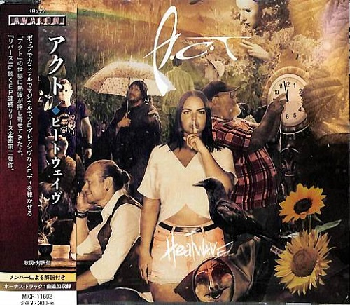 A.C.T – Heatwave [Japan Edition] (2021)
