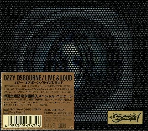 Ozzy Osbourne - Livе & Lоud (2СD) [Jараnеsе Еditiоn] (1993)