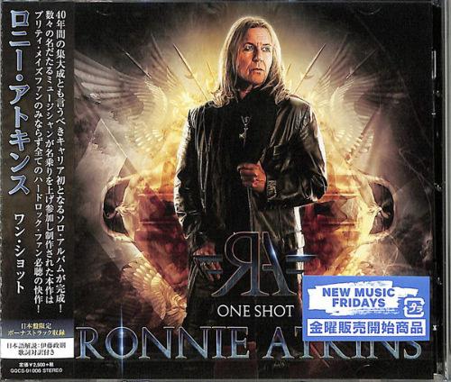 Ronnie Atkins (PRETTY MAIDS) - One Shot (Japanese Edition) (2021)