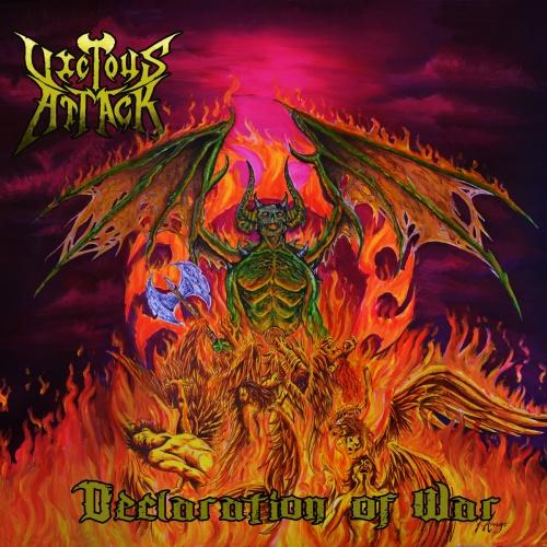 Vicious Attack - Declaration Of War (2021)