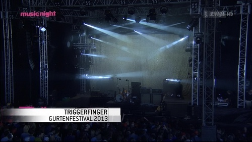 Triggerfinger - Live at Gurtenfestival 2013