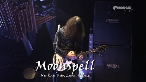 Moonspell - Live at Ninkasi Kao, Lyon 2015