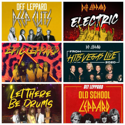 Def Leppard – Curated Full Series CDs (2021)