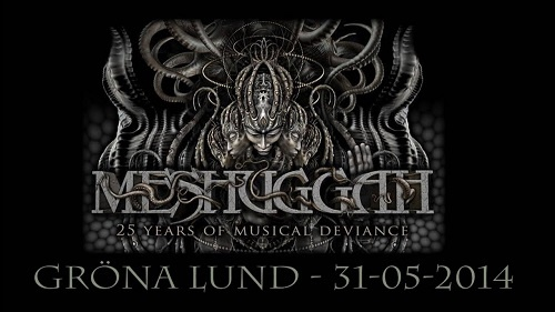Meshuggah - Live At Grona Lund, Stockholm 2014
