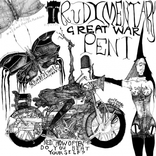 Rudimentary Peni - Great War (2021)
