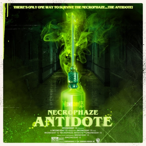 Wednesday 13 - Necrophaze: Antidote (EP) (2021)