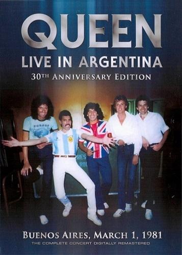 Queen - Live in Argentina 1981