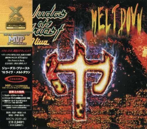 Judas Priest - Livе Меltdоwn (2СD) [Jараnеsе Еditiоn] (1998)