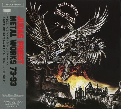 Judas Priest - Меtаl Wоrks 73-93 (2СD) [Jараnеsе Еditiоn] (1993)