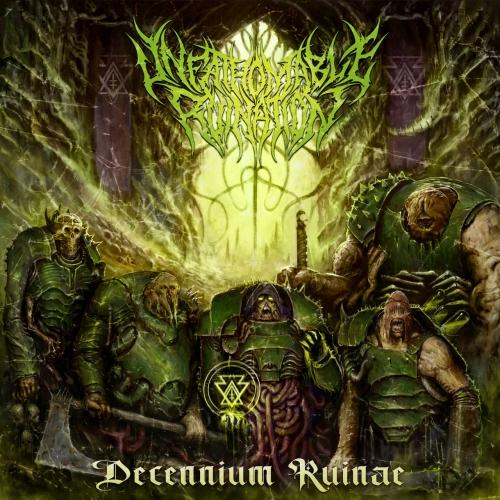 Unfathomable Ruination - Decennium Ruinae (EP) (2021)