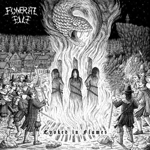 Funeral Pile - Evoked in Flames (2021)