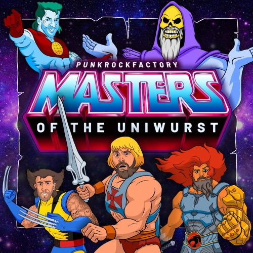 Punk Rock Factory - Masters of the Uniwurst (2021)