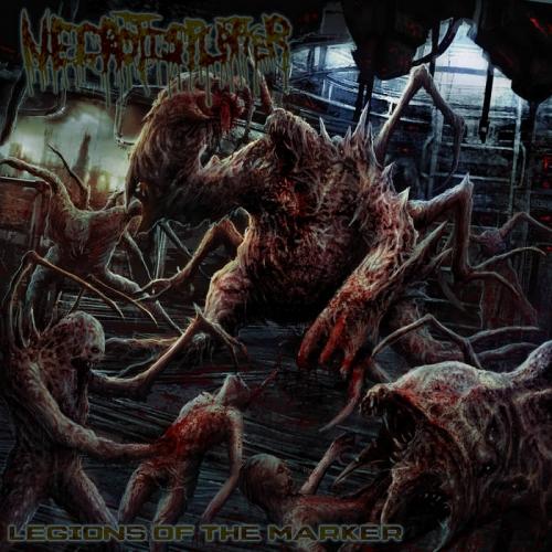 Necrotisplatter - Legions of the Marker (2021)