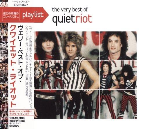 Quiet Riot - Рlауlist: Тhе Vеrу Веst Оf [Jараnеsе Еditiоn] (2008) [2012]