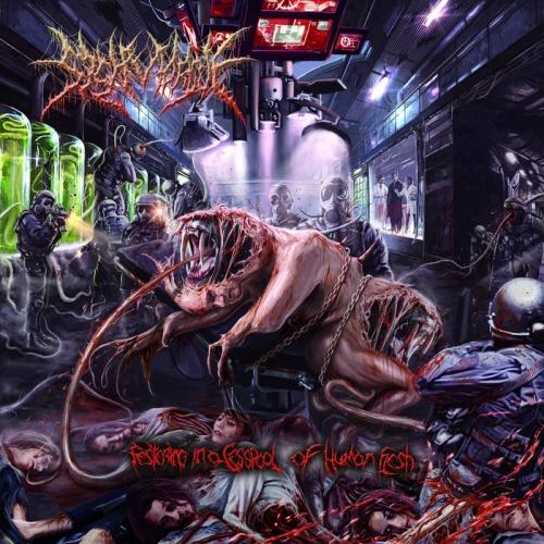 SickMorgue - Festering in a Cesspool of Human Flesh (2021)