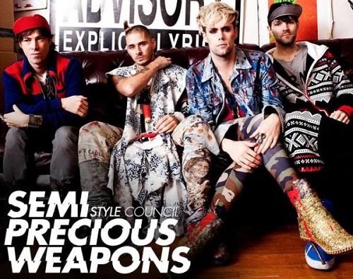 Semi Precious Weapons - Discography (2007-2014)