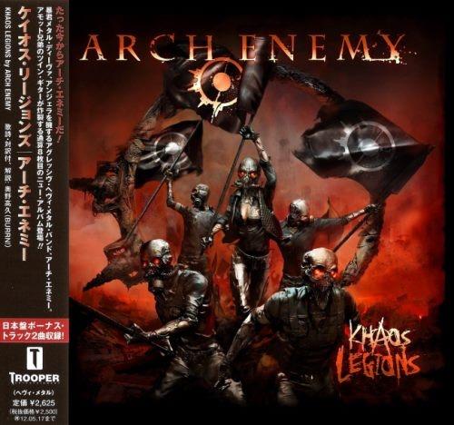 Arch Enemy - Кhаоs Lеgiоns [Jараnеsе Еditiоn] (2011)