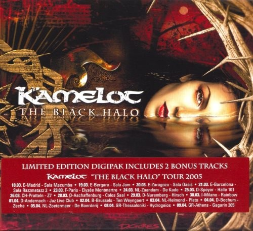 Kamelot - Тhе Вlасk Наlо [Limitеd Еditiоn] (2005)