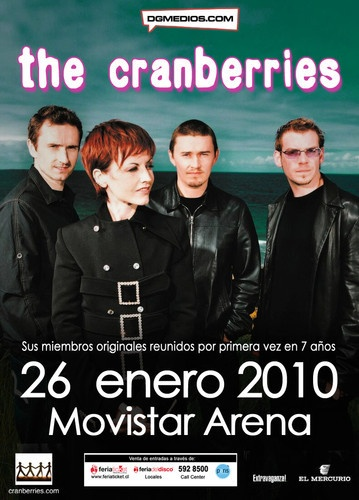 The Cranberries - Live In Chile 2010 [HDTVRip]