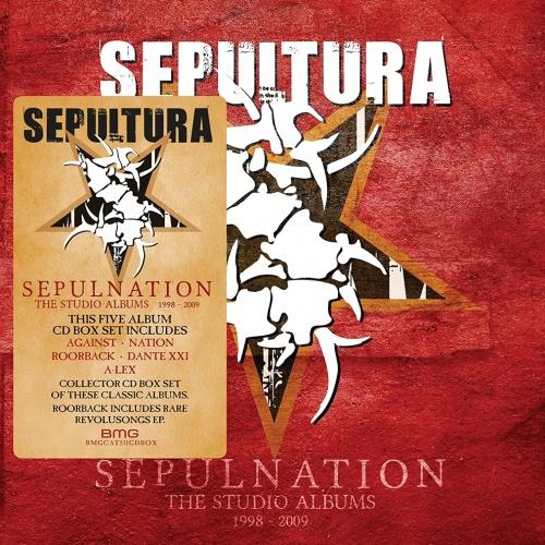 Sepultura - Sepulnation-the Studio Albums 1998-2009 [2021 Remastered Box-Set]